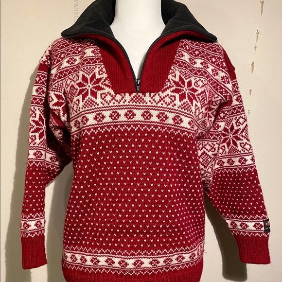 Vintage Norwegian Ski Sweater